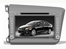 DayStar DS-7072HD для Honda Civic 2012 с GPS навигацией